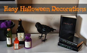 home made halloween decorations easy diy halloween decorations the lovebugs blog