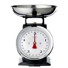 balance de cuisine retro balance de cuisine en métal vintage 5 kg noir bloomingville deco