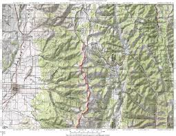 Maps Of Utah by Skyline Drive