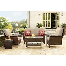 Deep Seating Patio Set Clearance Ty Pennington Style 65 512267f Parkside 4 Piece Deep Seating