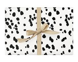 black and white wrapping paper black wrapping paper etsy