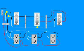 need diagram help on easiest way to wire split receptacles on 4
