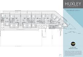 Floor Plan Measurements The Huxley Apartments Floor Plans