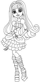 monster high coloring pages frights camera action monster high frankie stein wears dresses coloring pages monster