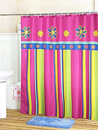 108 Inch Long Shower Curtain Amazon Com Fabric Christmas Shower Curtain Liner With Hooks Rings