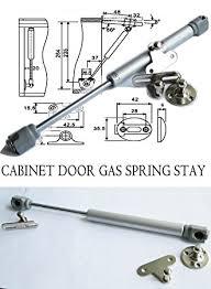 Amazon Com Hnfshop Set Of 2 Cabinet Door Lift Up Hydraulic Gas