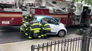 smart car watch fdny ladder 111 pick up a car2go smart car like it u0027s a toy