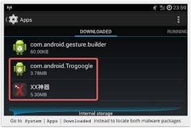 android malware removal android app virus spreads quickly author arrested within