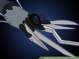 edward scissorhands costume how to make an edward scissorhands costume 8 steps