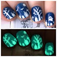 one nail to rule them all gelish glow in the dark polish