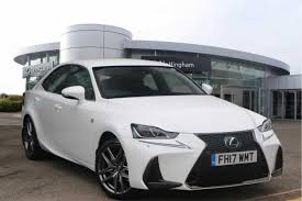 lexus is f sport 2017 used 2017 lexus is 300h f sport 4dr cvt auto for sale in