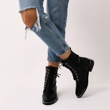where to buy biker boots aphex studded biker boots in black public desire