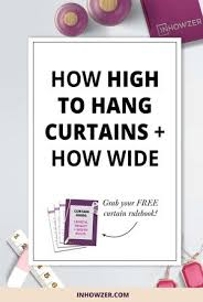How Wide To Hang Curtains 32 Best Bedroom Furniture Ideas Images On Pinterest Furniture