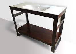 Modern Bathroom Vanity by Industrial Modern Steel Vanity Kb Furnishings Modern Furniture