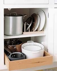 Kitchen Cabinet Organisers by Kitchen Organizing Tips Martha Stewart