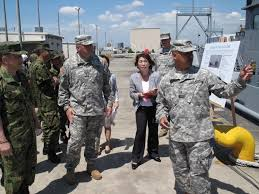 Japanese Generals by U S Japanese Generals Visit Army Reserve Soldiers In Japan