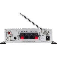 lepai lp a68 2 x 15w mini amplifier with remote usb mp3 media card fm