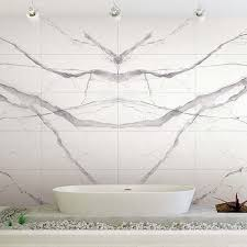 book matched marble stone effect thin porcelain tiles by porcel thin