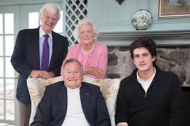 John Schlossberg Jfk U0027s Grandson Gifts George H W Bush With Profile In Courage
