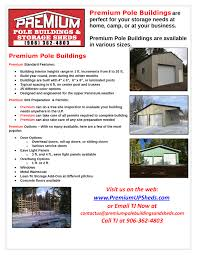 How To Build A Pole Barn Plans For Free by Premium Pole Building And Storage Sheds Upper Peninsula Mi