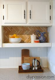 Easy Backsplash For Kitchen by Easy And Inexpensive Back Splash Ideas