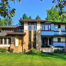 Usonian House Plans Frank Lloyd Wright Inspired Homes Prairie Style