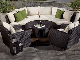 patio interesting circular outdoor furniture round patio couch