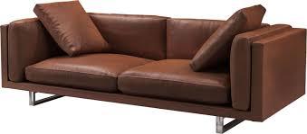 Leather Sofa Fulton Top Grain Leather Sofa U0026 Reviews Allmodern