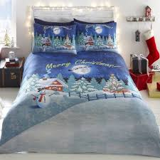 Christmas Duvet Covers Uk Christmas Glow In The Dark Duvet Cover Tonys Textiles