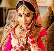 the punjabi bridal look