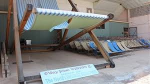 Biggest Chair In The World Is This The World U0027s Largest Deckchair Abc Western Queensland