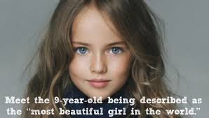 kristina pimenova is the most beautiful in the world youngest supermodel