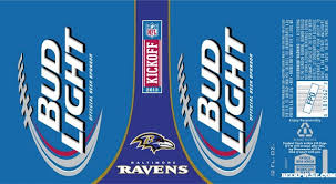 where can i buy bud light nfl cans baltimore ravens bud light can beerpulse