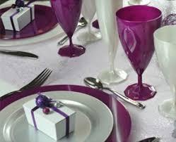 réception de mariage et vaisselle jetable recyclable - Assiette Jetable Mariage