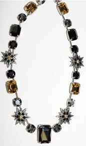 necklace stone setting images Mariana necklace black black amber silver stones in silver jpg