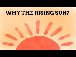 why is the land of the rising sun