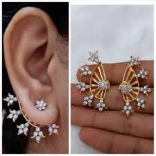 ear cuffs and earrings at rs 150 s ear cuffs id