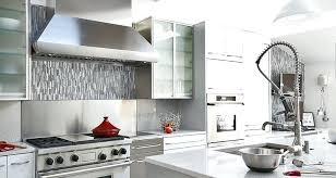 steel kitchen backsplash backsplash for white kitchen cabinets stainless steel kitchen