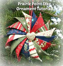 best 25 prairie point ornament ideas on folded