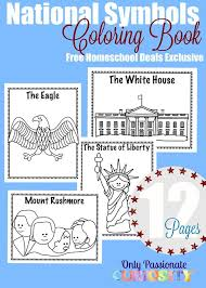 united states symbols coloring pages 290 best american symbols images on pinterest american symbols
