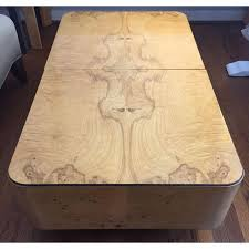 Henredon Coffee Table by Henredon Scene Two Coffee Table In Olive Burl Chairish