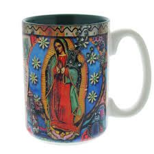 our lady of guadalupe story mug the catholic company