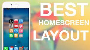 ios 8 4 best iphone homescreen layout tutorial cydia tweaks