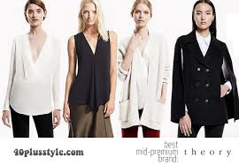 theory clothing the best mid premium brands for women 40 40plusstyle