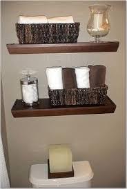 shelf ideas for bathroom installing ikea ekby shelves in the bathroom of frugal homemaker
