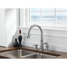 delta savile kitchen faucet 100 delta savile stainless 1 handle pull kitchen faucet