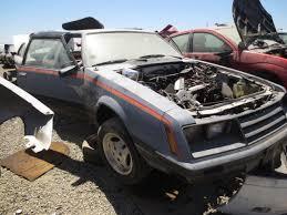 junkyard find 1979 ford mustang