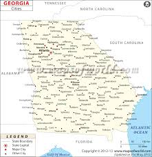 best towns in georgia cities in georgia georgia cities map