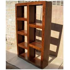 Cube Bookcase Wood Wood Modern Display Rack Cube Bookcase Shelf Room Divider