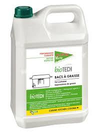 bac à graisse cuisine nettoyant bac à graisse biotech verte proven 5l